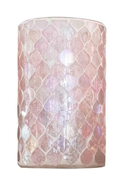 Anaya Diamond Mosaic Vase/votive - Product Mini Image