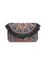 Shiraleah Anaya Tassel Clutch - Product Mini Image