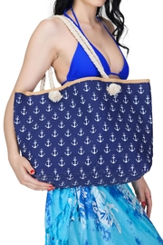 India Boutique Anchor Beach Tote - Product Mini Image