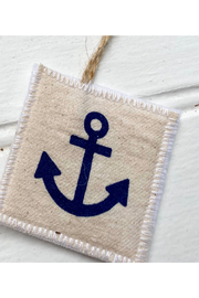 Seagate Studio Anchor Canvas Christmas Ornaments - Front cropped