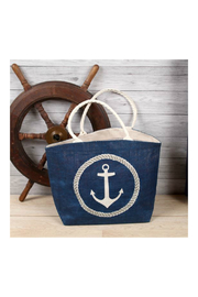 DEI Anchor Design Tote - Front cropped