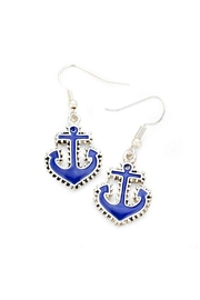 Wild Lilies Jewelry  Anchor Drop Earrings - Product Mini Image