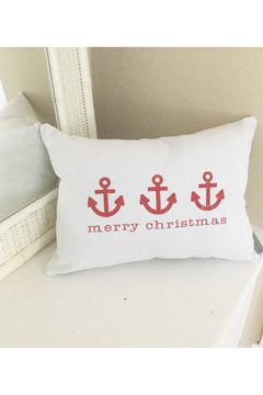 Seagate Studio Anchor Merry Christmas Pillow - Product List Image