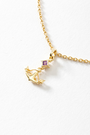 Second Daughter Anchor Pendant Necklace - Product Mini Image