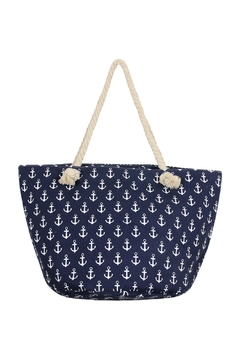 Shoptiques Product: Anchor-Print Tote-Bag