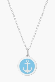 Auburn Jewelry Anchor Silver Pendant - Mini - Front cropped