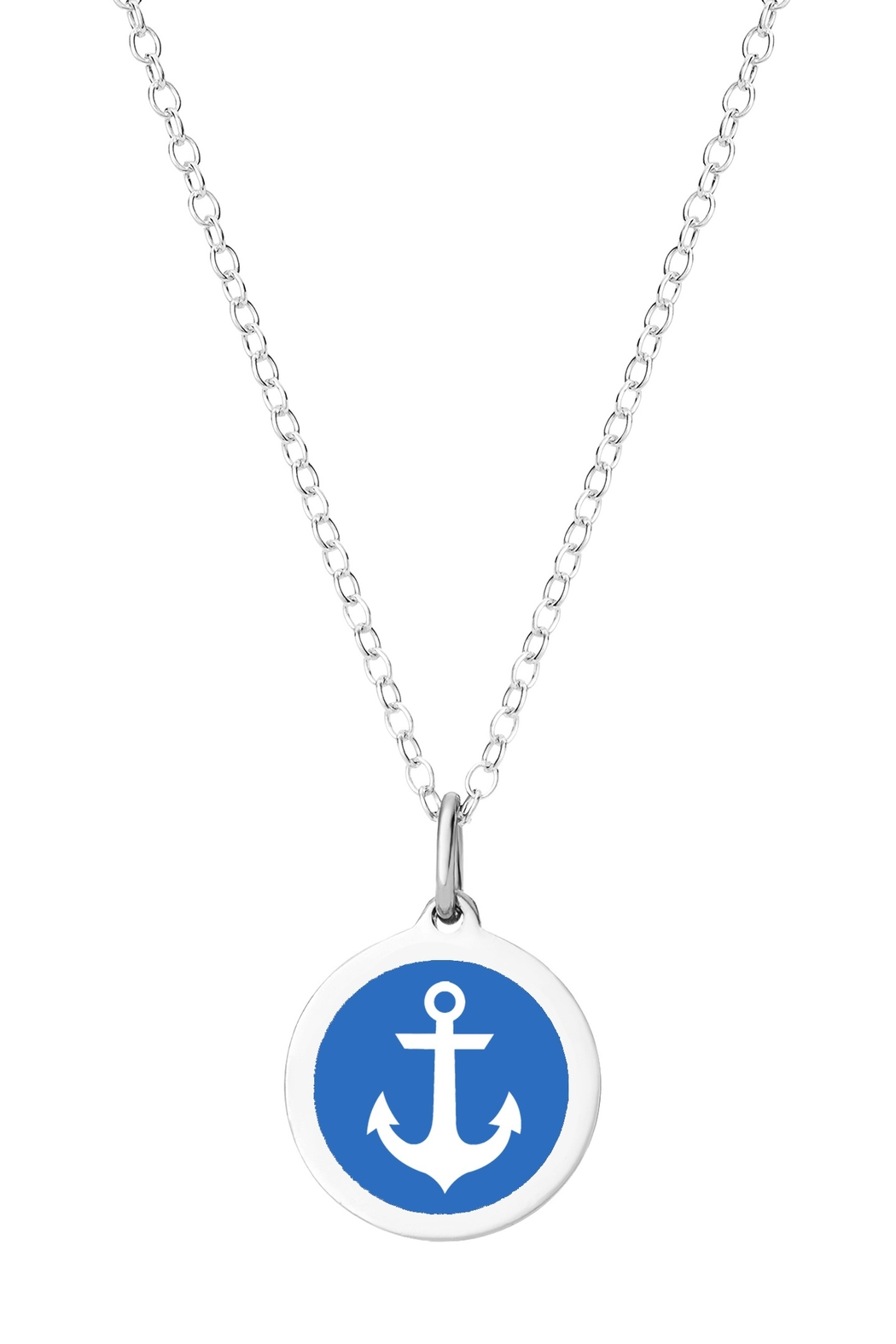 Auburn Jewelry Anchor Silver Pendant - Mini - Main Image