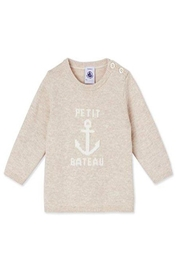 petit bateau Anchor Sweater - Front cropped
