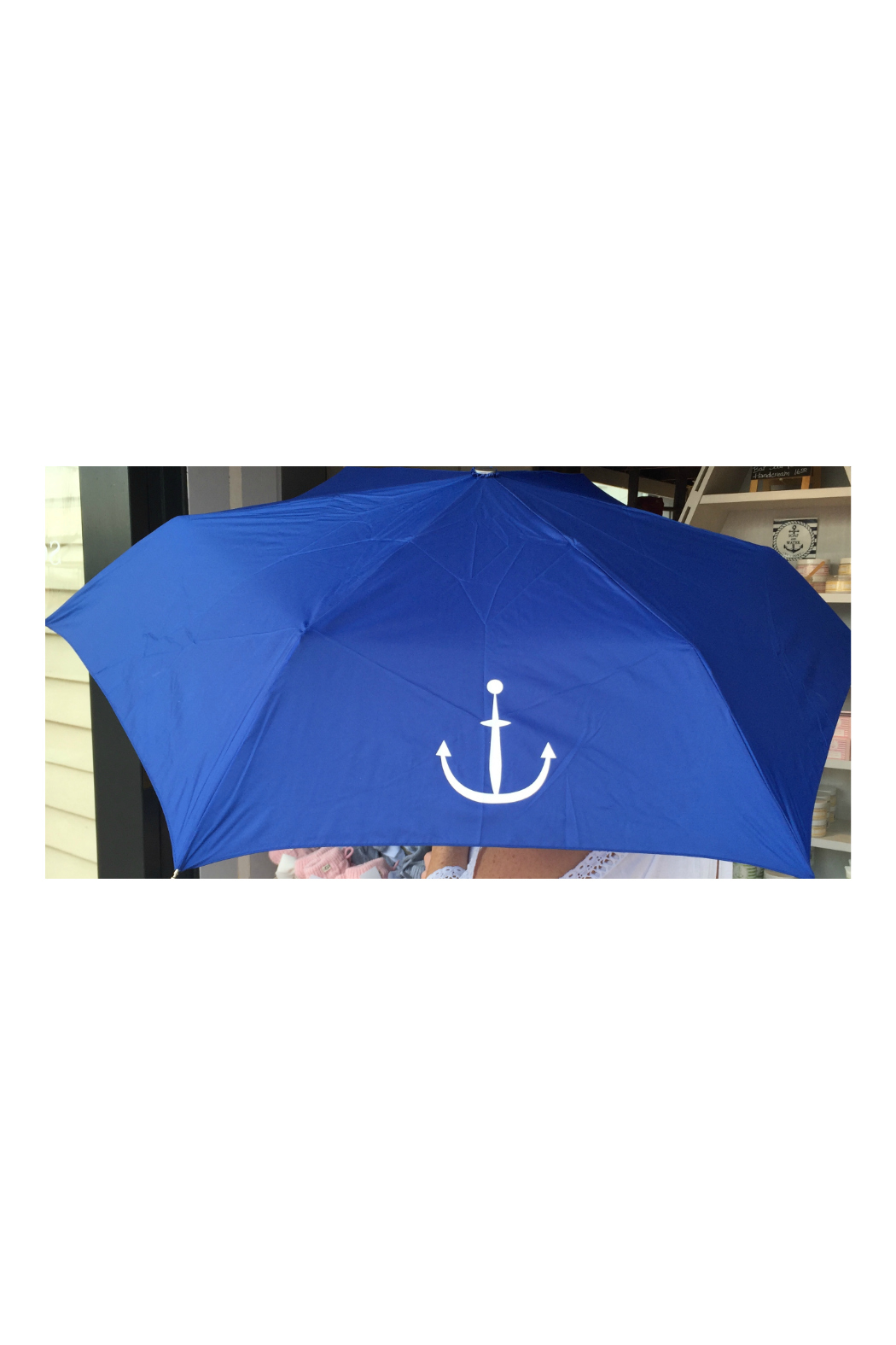 SHED RAIN ANCHOR UMBRELLA - Front Cropped Image
