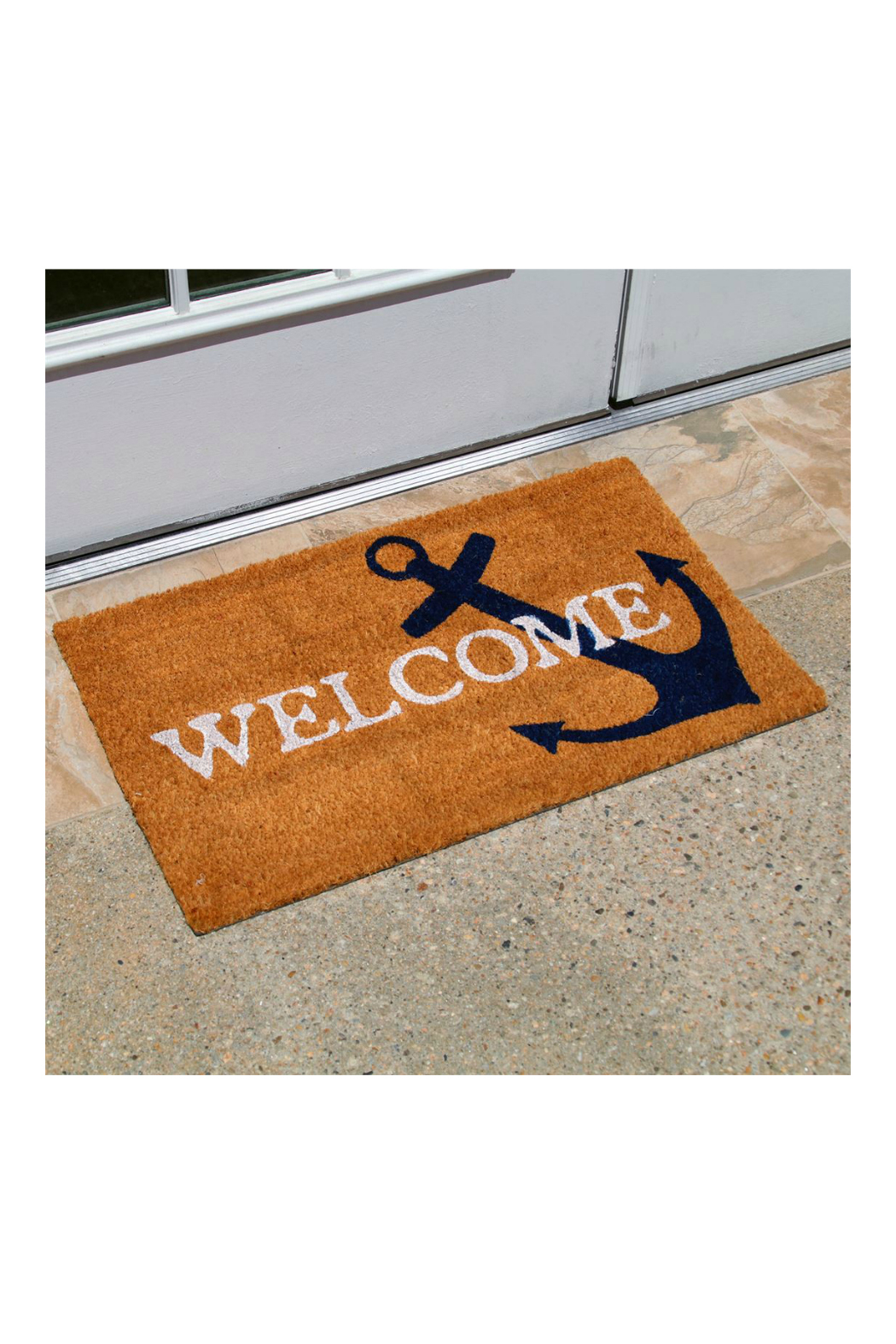 DEI ANCHOR WELCOME MAT - Front Full Image