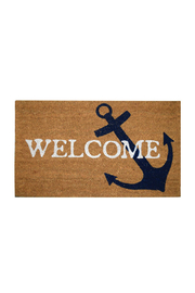 DEI ANCHOR WELCOME MAT - Front cropped