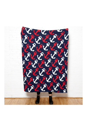 In2Green Anchors Away  Eco Throw Blanket - Product Mini Image