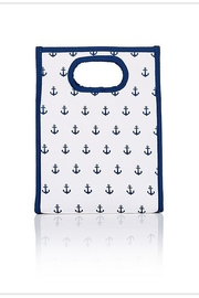Toss Designs ANCHORS AWEIGHT LUNCH BAG - Front cropped