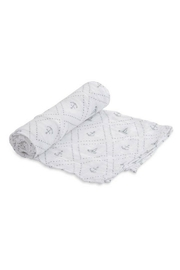 Little Unicorn Anchors Cotton Swaddle - Front cropped
