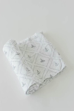 Shoptiques Product: Anchors Swaddle Blanket