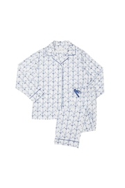 The Cat's Pajamas Anchorsaway Pajama Set - Product Mini Image