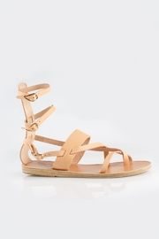 Ancient Greek Sandals Alethea Mid Gladiator - Front full body