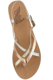 Ancient Greek Sandals Semele - Front cropped