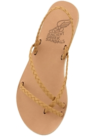 Ancient Greek Sandals Yianna - Front full body