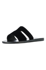 Ancient Greek Sandals Apteros Velvet Black - Product Mini Image