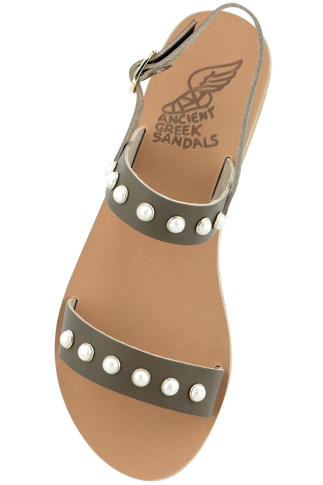 Ancient Greek Sandals Clio Pearls - Main Image