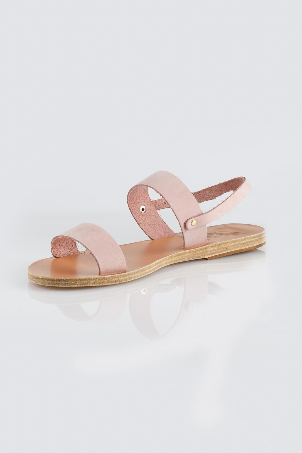 Ancient Greek Sandals Pink Slip Sandal - Front Cropped Image