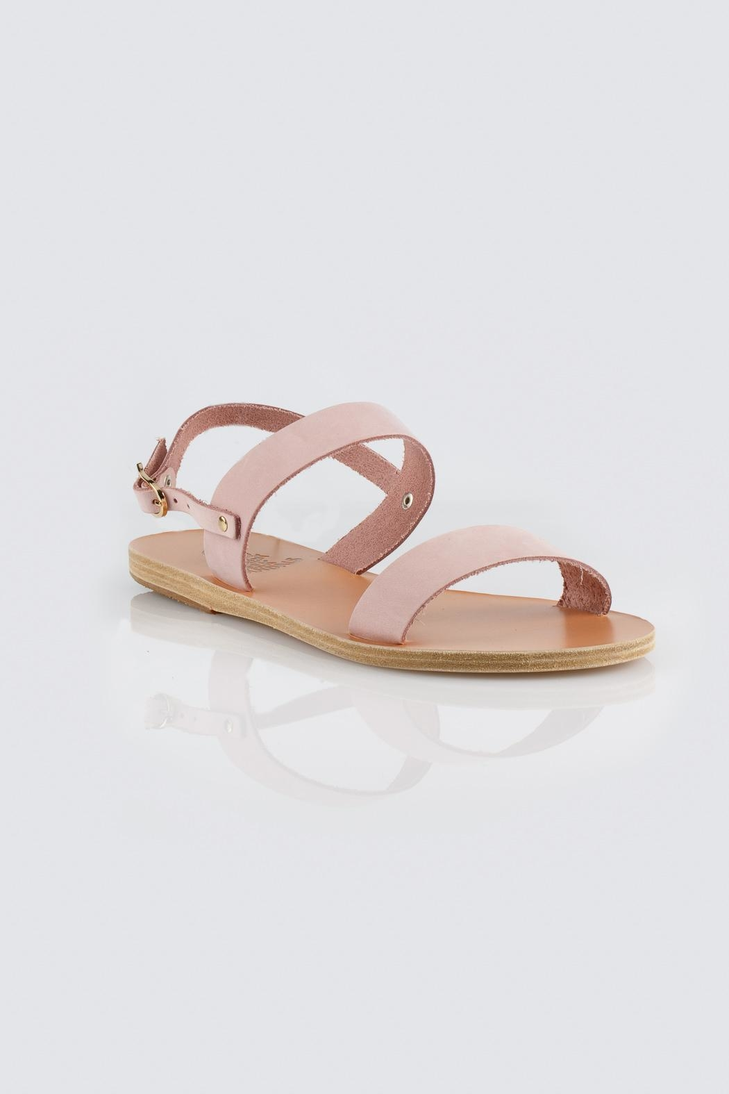 Ancient Greek Sandals Pink Slip Sandal - Side Cropped Image