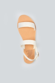 Ancient Greek Sandals Clio White Sandal - Back cropped