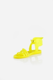 Ancient Greek Sandals Ikaria Fluro Yellow Sandal - Product Mini Image