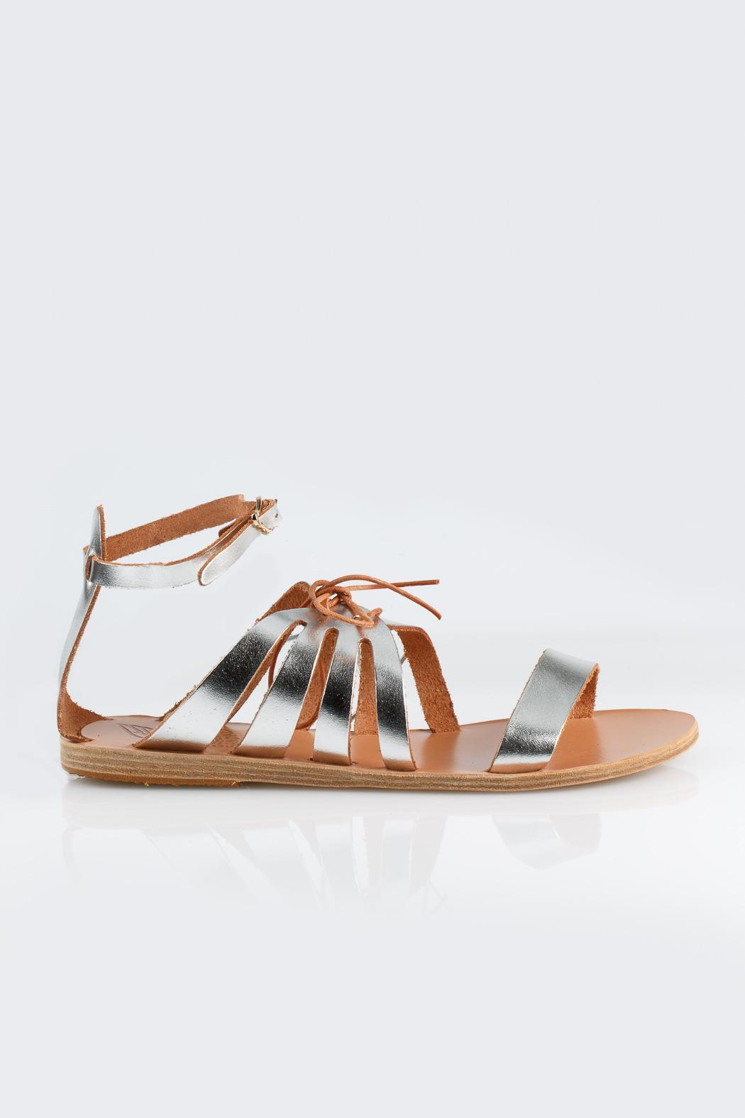 Ancient Greek Sandals Iphegenia Greek Sandal - Front Full Image