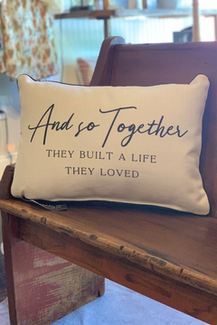 Shoptiques Product: And so Together...Pillow