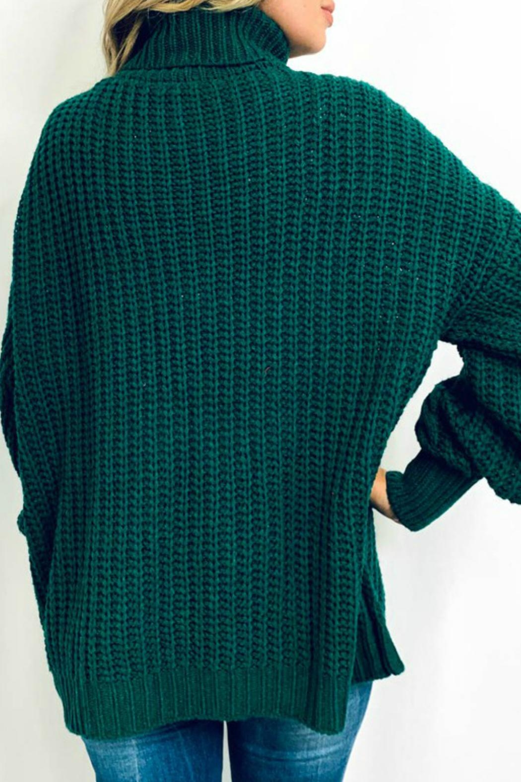 And the Why Jacelyn Turtleneck Sweater - Side Cropped Image
