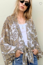And the Why Paisley Print Top - Product Mini Image