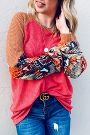 And the Why Snake Color-Block Tunic - Side cropped