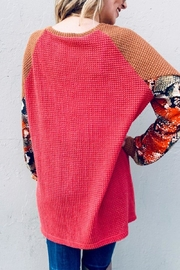 And the Why Snake Color-Block Tunic - Other