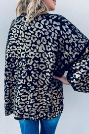 And the Why Valetta Leopard Sweater - Side cropped