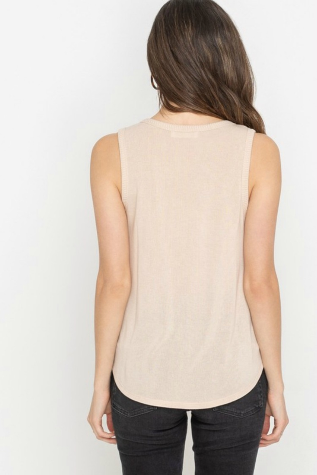 All In Favor ANDE TIE TANK - Side Cropped Image