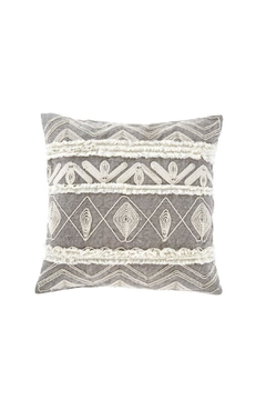 Indaba Andella Embroidered Cushion - Alternate List Image