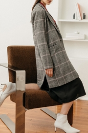 Rails Anders Charcoal/pink Plaid - Side cropped