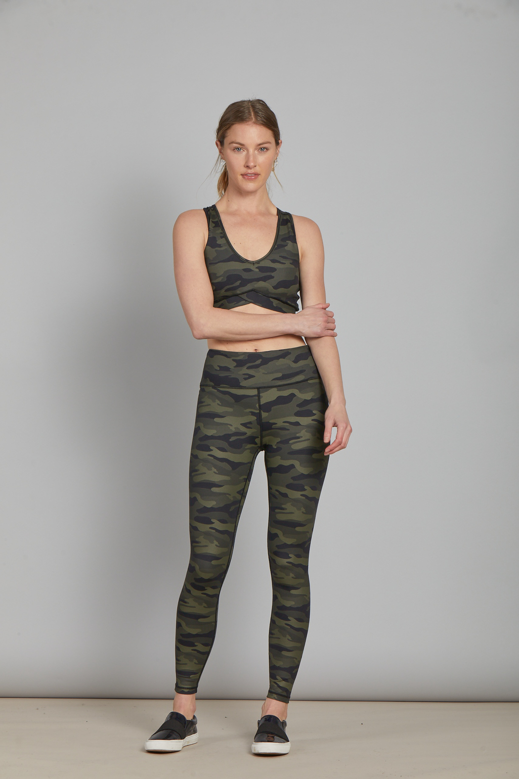another love  Andia Camo Legging - Side Cropped Image