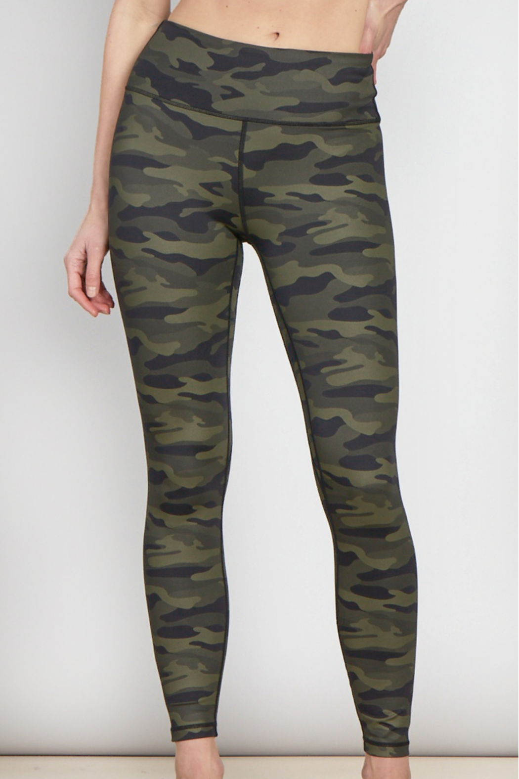 another love  Andia Camo Legging - Back Cropped Image