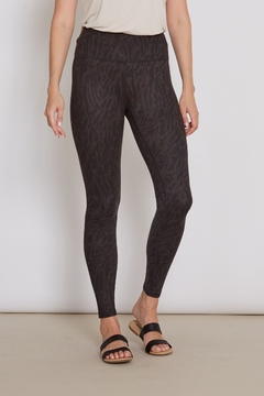 Shoptiques Product: Andia Soft Black Sheba Legging