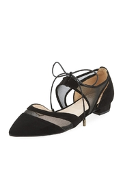 Andre Assous Maddie Black Suede - Product Mini Image