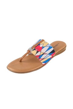 Andre Assous Multicolor Thong Sandal - Product List Image