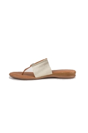 Andre Assous Nice In Platino Sandal - Product Mini Image