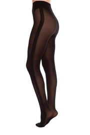 Swedish Stockings Andrea Black Tights - Product Mini Image