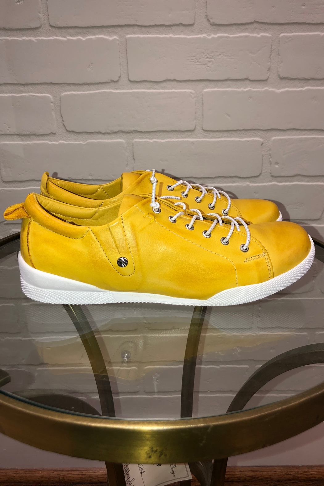 Andrea Conti  Andrea Lace Up Sneaker - Front Full Image