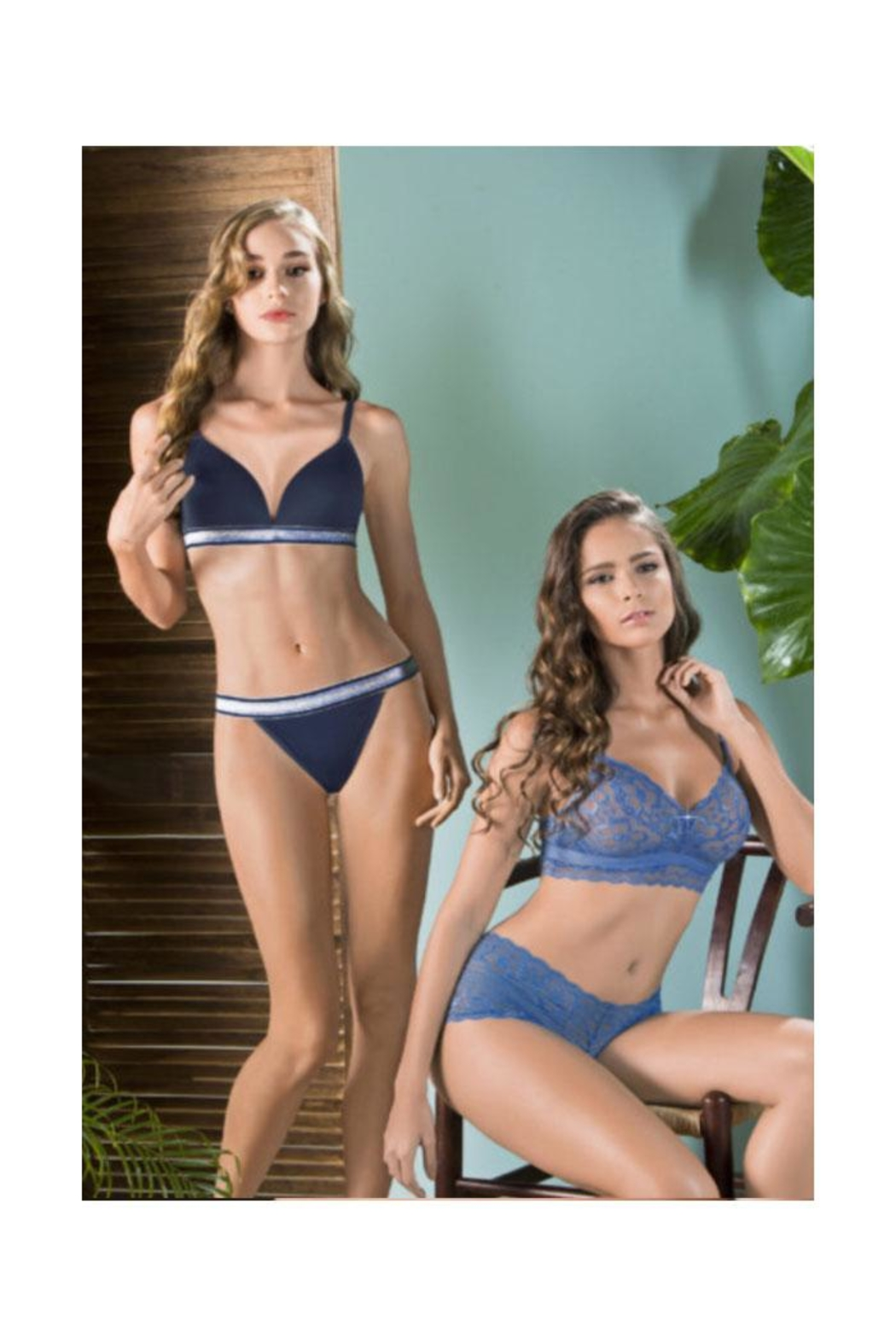 Andrea Push-Up Cup Bra - Side Cropped Image
