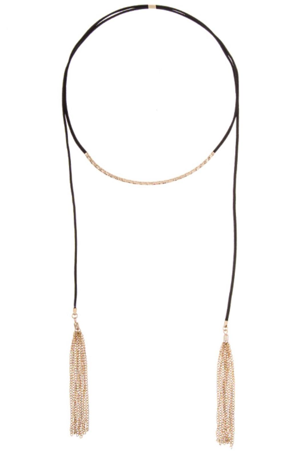 Andrea Bijoux Adjustable Tassel Necklace - Main Image