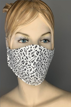Andrea Bijoux Cotton Covering Mask - Product List Image